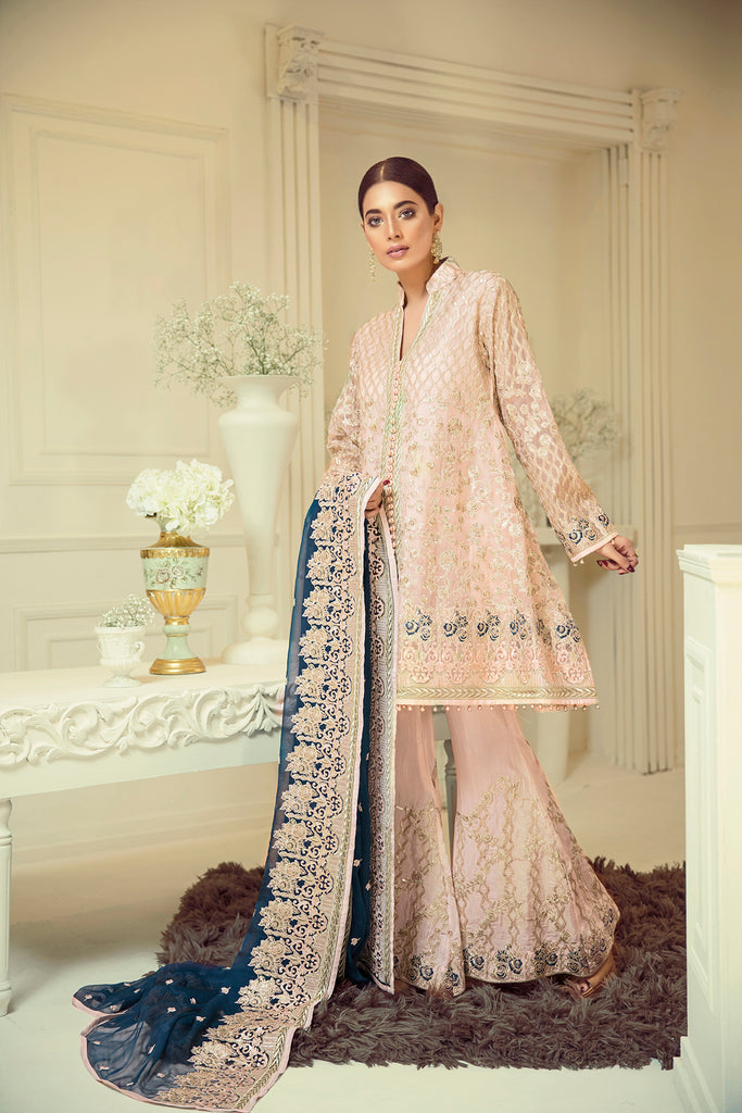 Elaf Premium Chiffon Collection 2019 – EL02 Vanilla Sky
