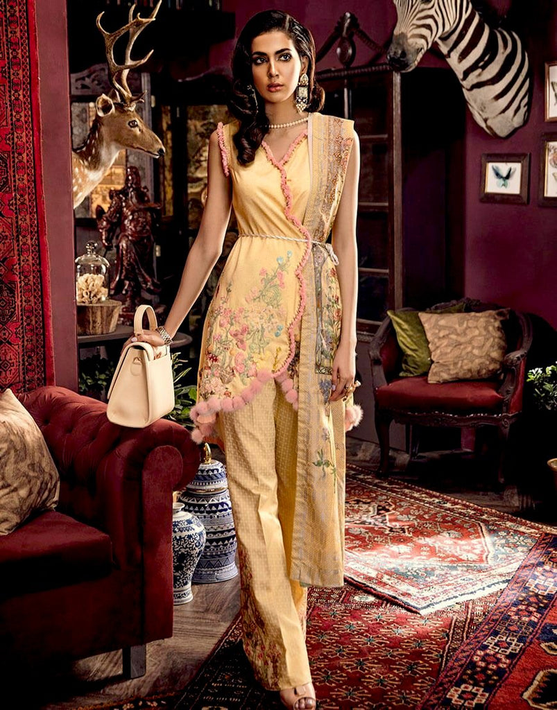 Rang Rasiya Zinnia Linen Collection 2018 – 2038 A