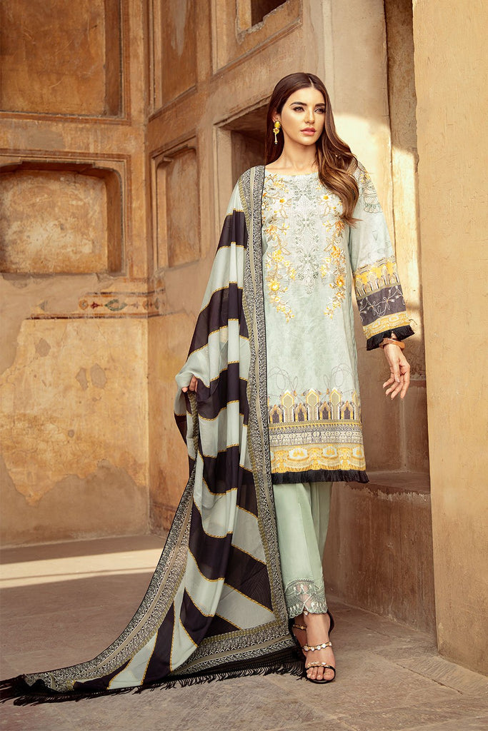 Ramsha Luxury Lawn Collection 2020 – C-203