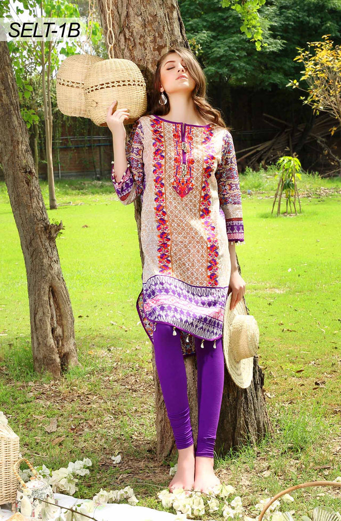 Sifona Embroidered Lawn Tunics '16 – 1B - YourLibaas  - 1