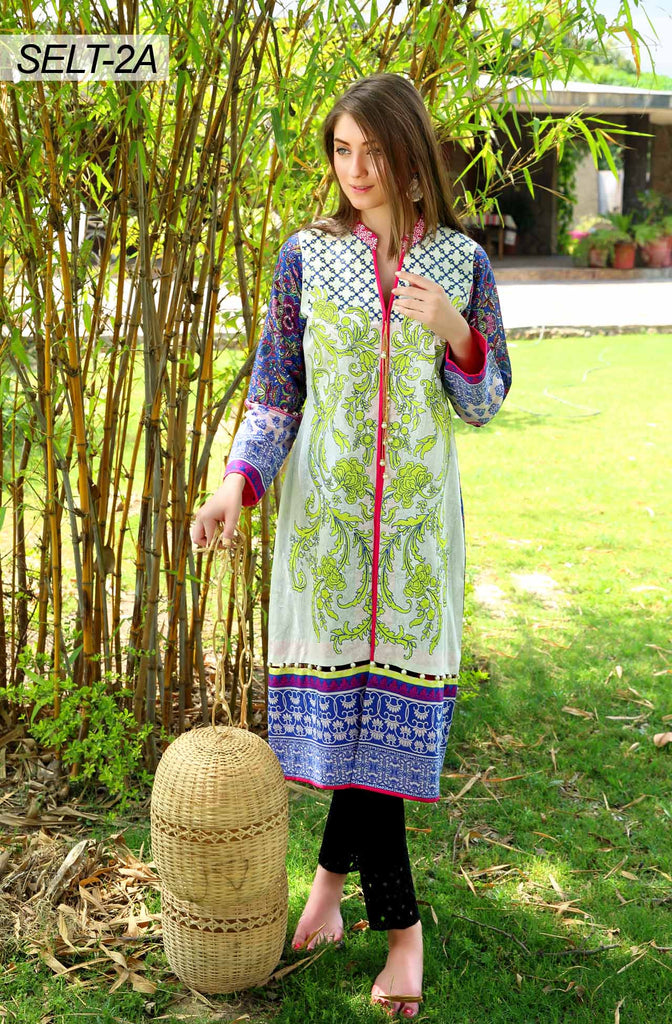 Sifona Embroidered Lawn Tunics '16 – 2A - YourLibaas  - 1