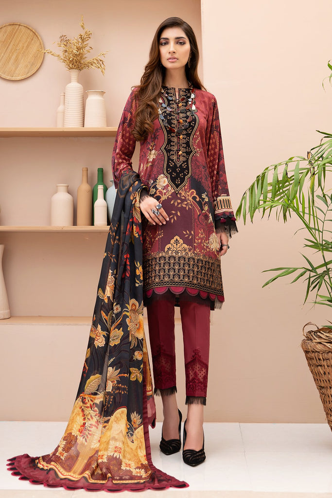 Jazmin Iris Lawn Collection Vol-2 2020 – Dilara