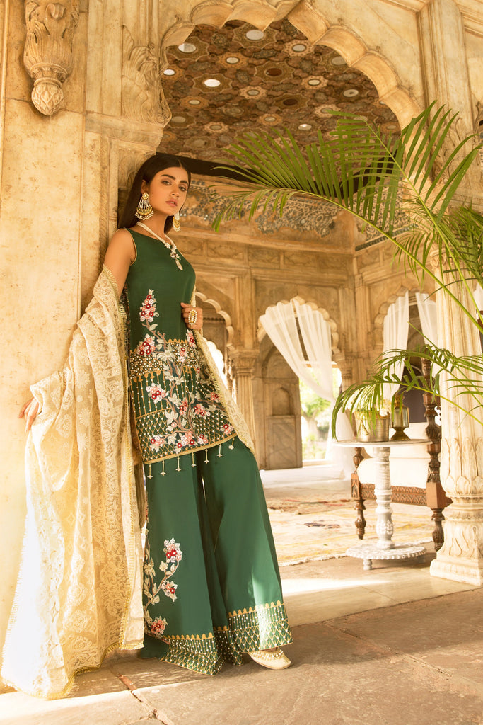 Qalamkar Bagh-e-Bahar Luxury Festive Collection – Zeb-un-Nisa
