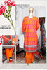 HZ Textiles Diamond Classic Lawn Collection Vol-2 – Design 28 Orange
