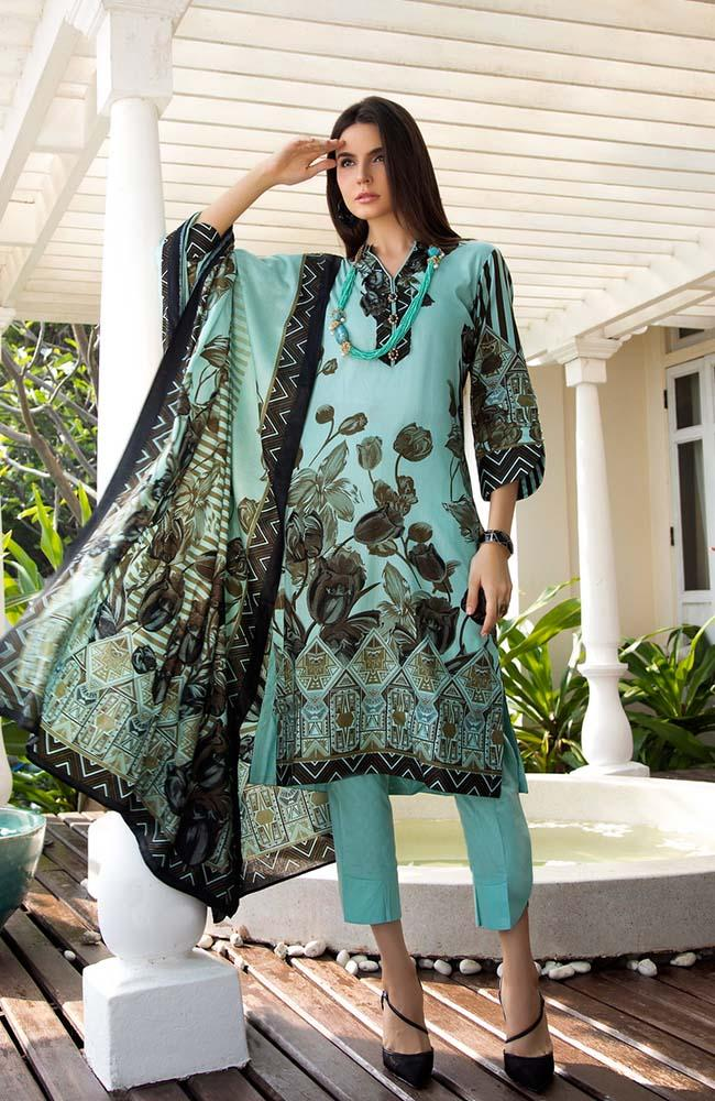Anum by Al Zohaib Lawn Collection Vol-1 2020 – 02A