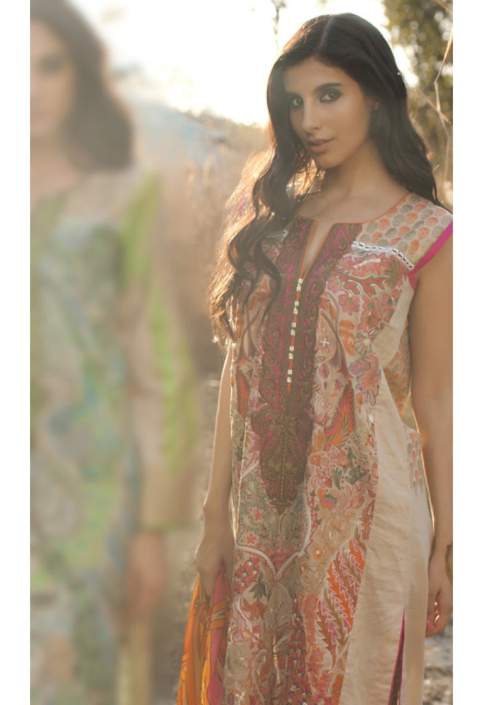 2A - Firdous Carnival Embroidered Collection 2015 - YourLibaas