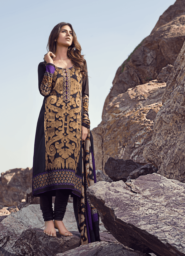 Sana Safinaz Winter Collection - 2A - YourLibaas  - 1