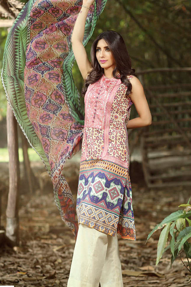ZarQash Luxury Lawn Spring/Summer - 2A - YourLibaas  - 1