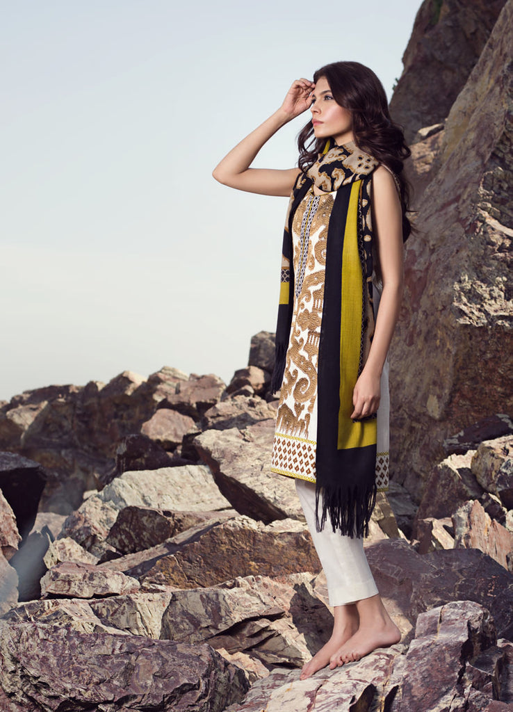 Sana Safinaz Winter Collection - 2B - YourLibaas  - 1