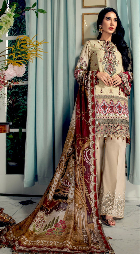 Anaya by Kiran Chaudhry · L'Amour De Vie Lawn Collection – ADRIANA