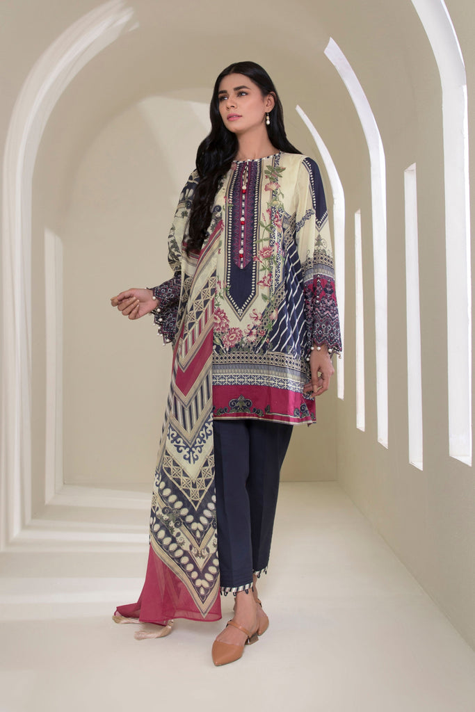 Sapphire Daily - 2 Piece Lawn Collection 2020 – Floral Dreams B