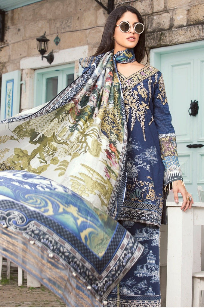 Shiza Hassan Luxury Lawn Collection '18 – Toile - 8A