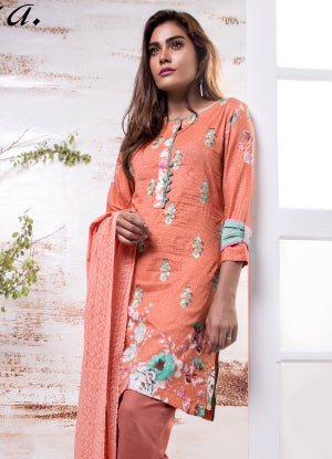 Sahil Designer Embroidered Eid Collection 2018 Vol 7 – SH7-2A
