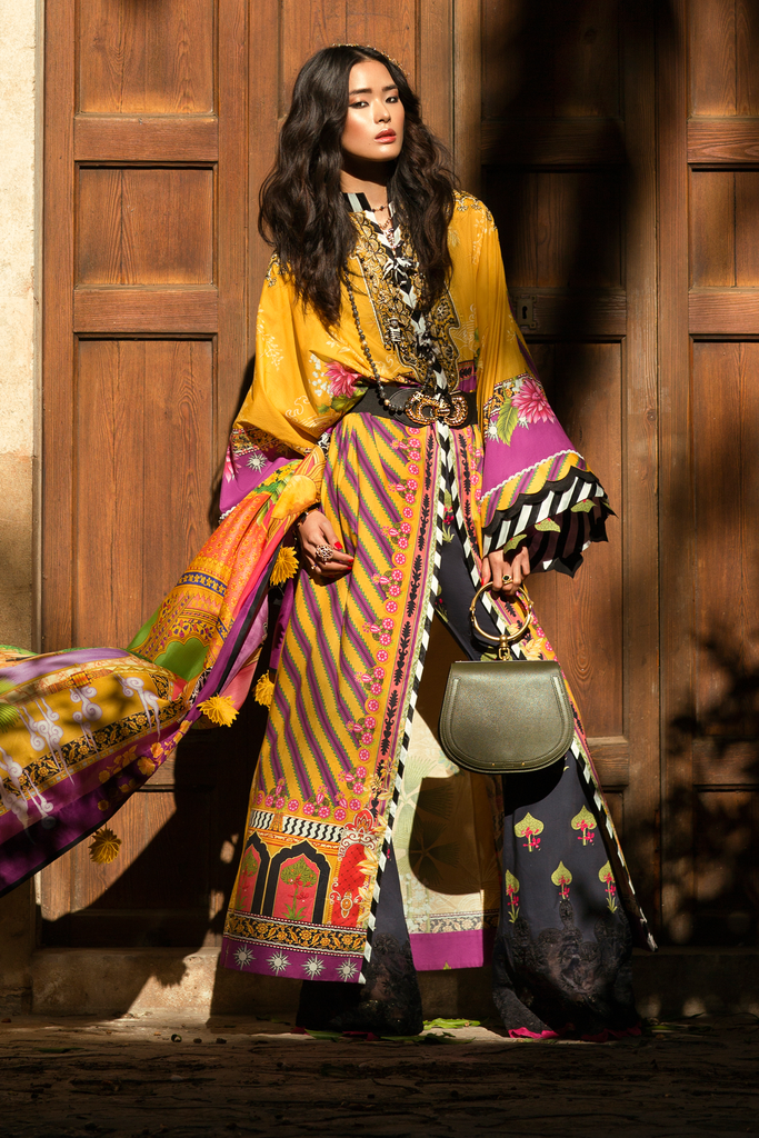 Élan Luxury Lawn Collection 2019 – EL-09 B (VIVIR)