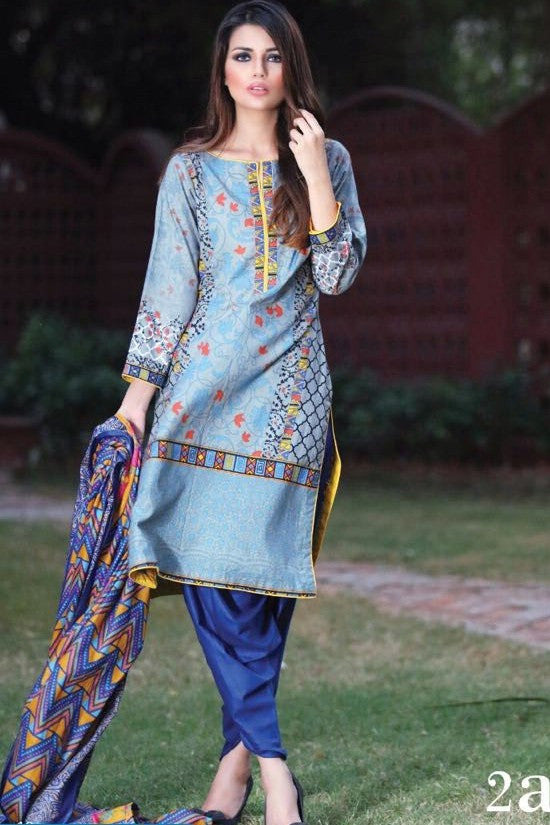 Anum Cambric Collection '16 – 02A - YourLibaas