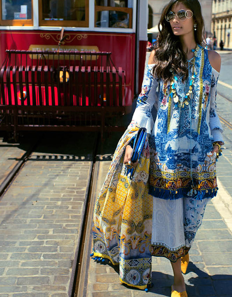 Shehla Chatoor Luxury Lawn Collection – 02-A
