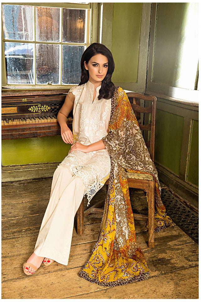 Sobia Nazir Lawn Collection '16 – 2B - YourLibaas