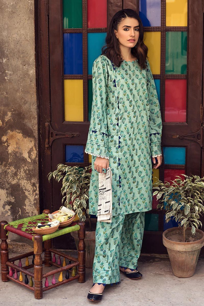 Gul Ahmed Winter Collection – Single Printed Corduroy Shirt SCD-03