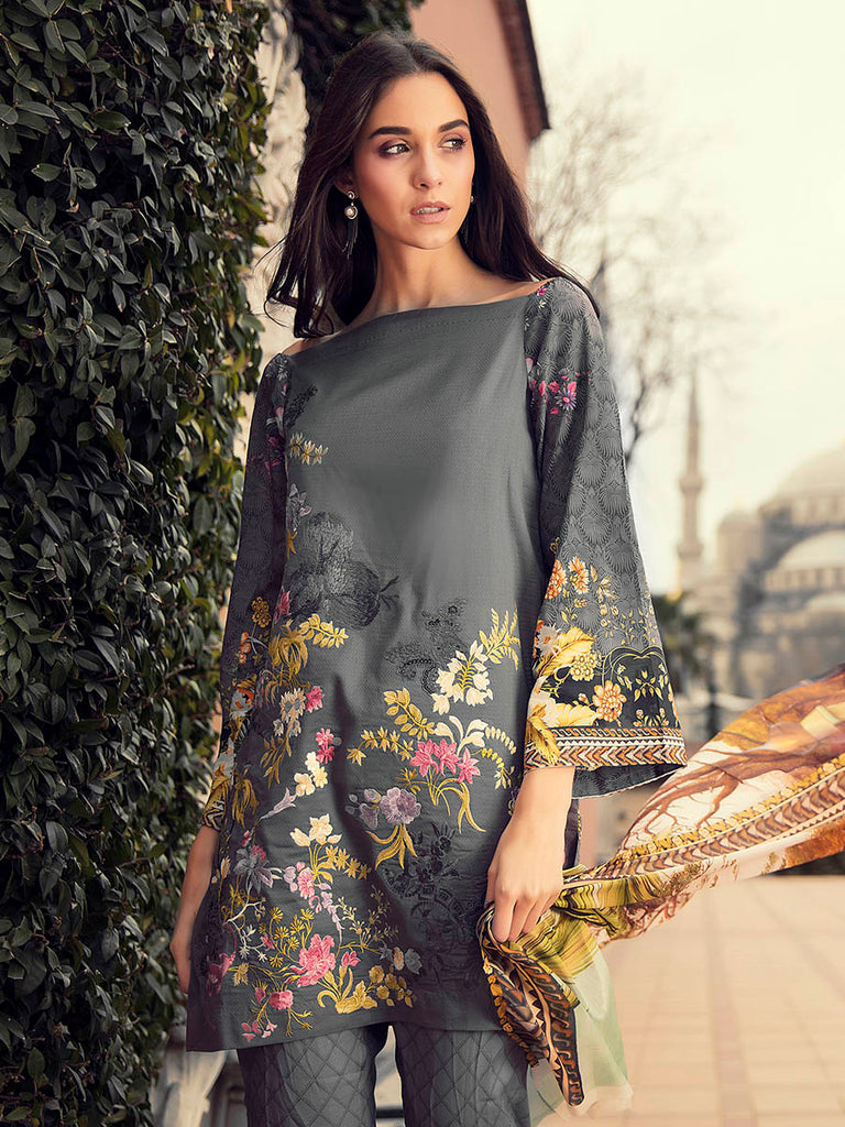 RajBari Luxury Lawn 2018 – 3B