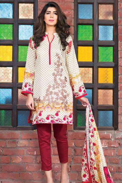 Charizma Floss Linen Collection '16 – Design 3 - YourLibaas  - 1