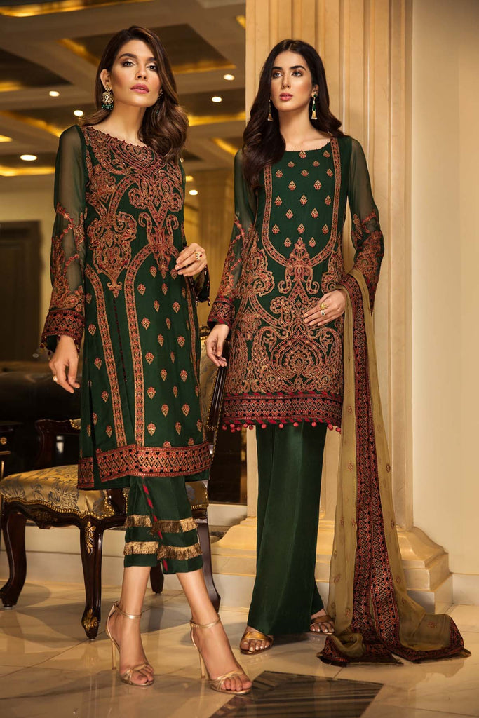 Jazmin Reve De Luxe Luxury Chiffon Collection – Mughal Suave