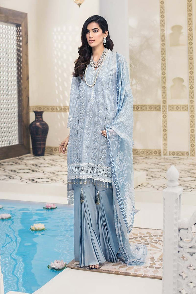 Gul Ahmed Summer Premium Collection 2019 – 3 PC LSV-02