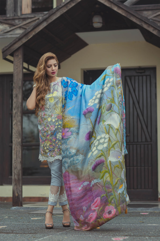 Rungrez Spring/Summer Lawn 2017 – Lady Eve