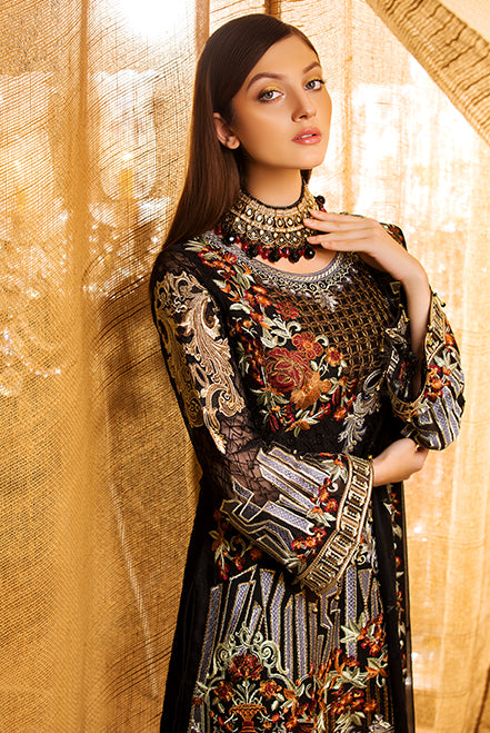 Ramsha Rangoon Chiffon Collection Vol-II – D-207
