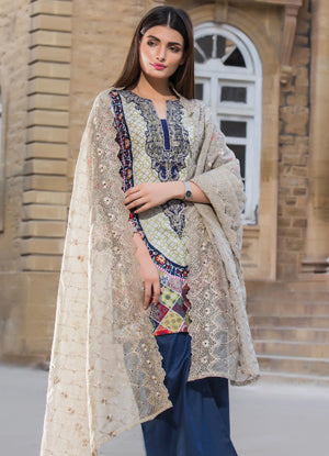 Sahil Cotton Embroidered Collection 2017 – 3A