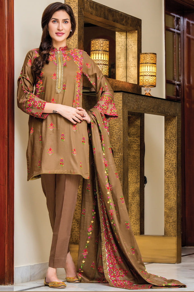 Sahil Designer Embroidered Lawn Collection Vol-9 – 3A