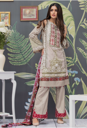 Al Zohaib Monsoon Festivana Lawn Collection Vol-2 – 2A