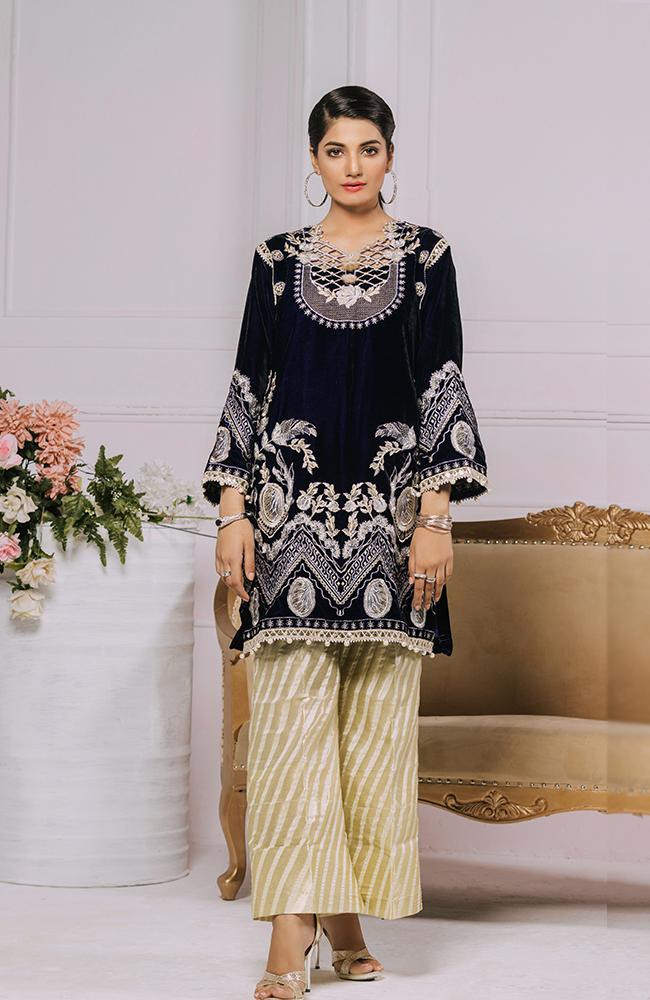 Al Zohaib Velvet Collection 2020 – AZV20-04