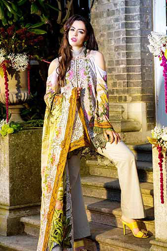 Saira Rizwan Lawn Collection 2017 – Vintage Lilly