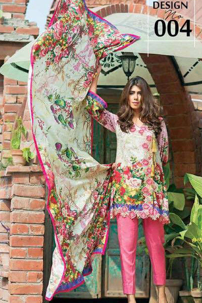 Charizma Floss Linen Collection '16 – Design 4 - YourLibaas  - 1