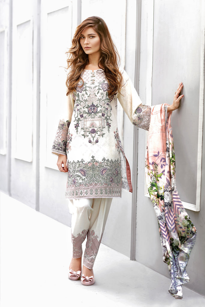 Baroque Eid Lawn Collection 2017 – Daisy Lint