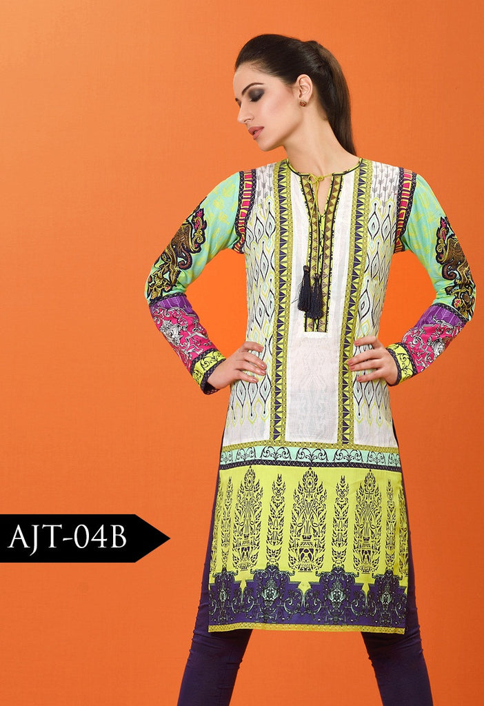 Asim Jofa Lawn Tunics Collection - AJT-4B - YourLibaas  - 1