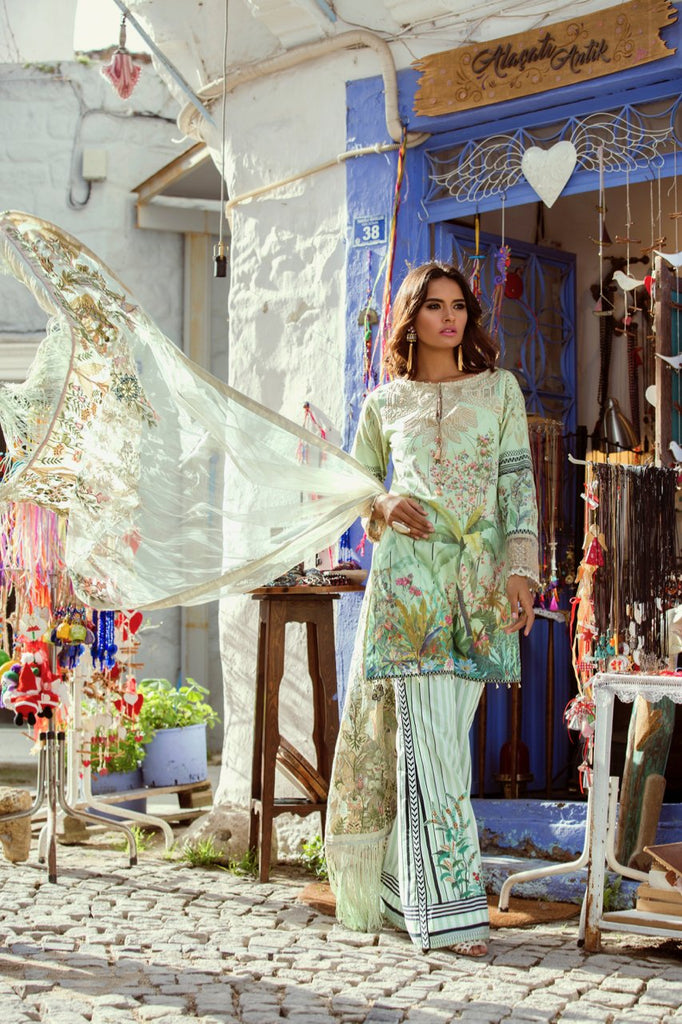 Shiza Hassan Luxury Lawn Collection '18 – Rivire - 4B
