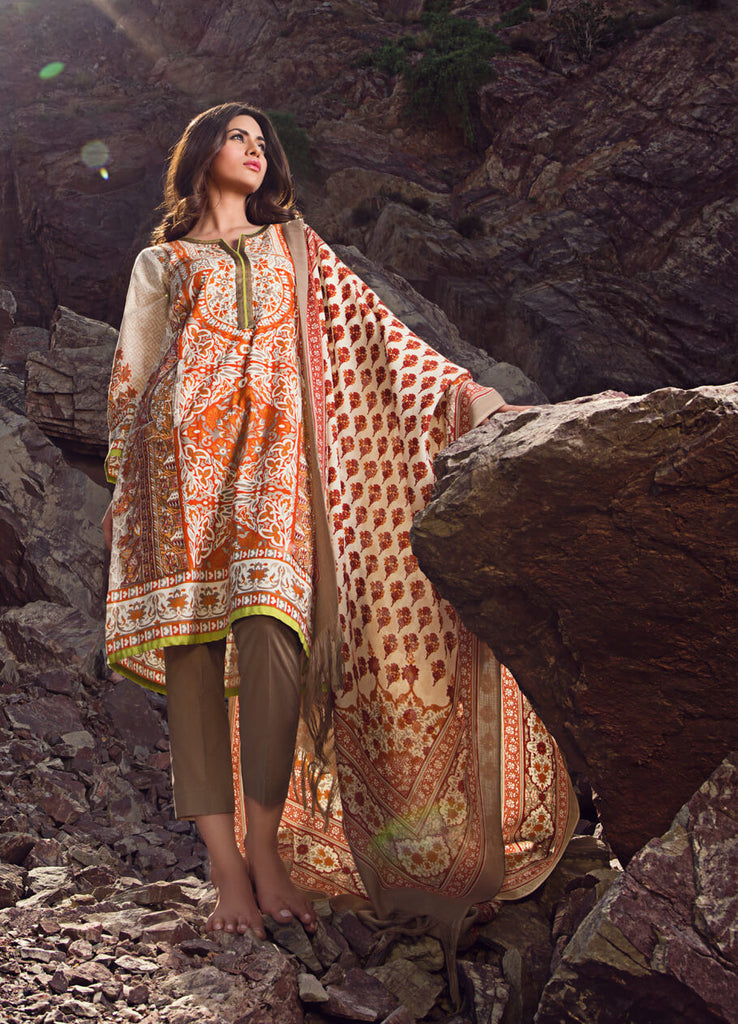 Sana Safinaz Winter Collection - 4B - YourLibaas  - 1