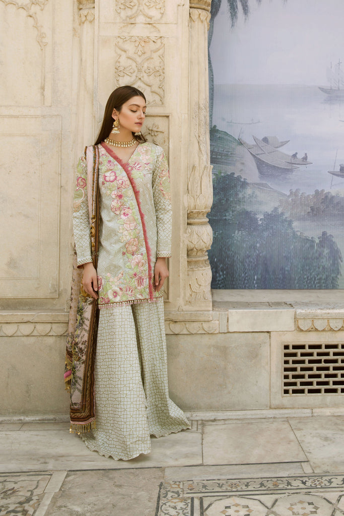 Qalamkar Bagh-e-Bahar Luxury Festive Collection – Farzeen