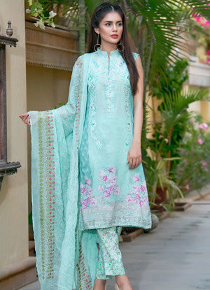 Sahil Embroidered Lawn Eid Collection Vol-10 – 04A