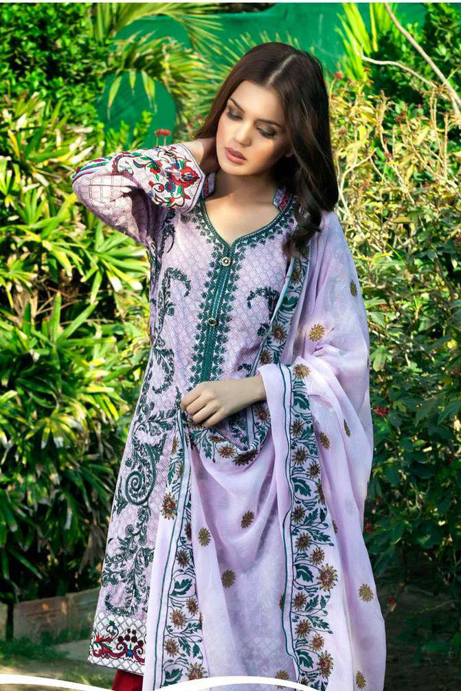 Maira Ahsan Embroidered Lawn Collection – MAL04A
