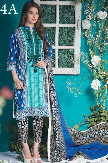 Kalyan Designer Collection '16 Vol-2 – 4A - YourLibaas  - 1