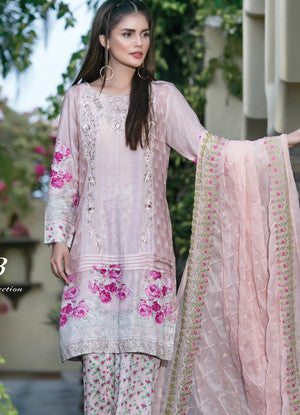 Sahil Embroidered Lawn Eid Collection Vol-10 – 04B