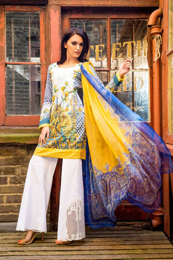 Sobia Nazir Lawn Collection '16 – 4B - YourLibaas  - 1