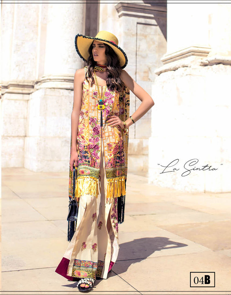 Shehla Chatoor Luxury Lawn Collection – 04-B