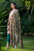 Saira Hassan Velvet Embroidered Dupatta Collection – SH05 - YourLibaas  - 1