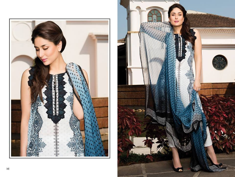 04 - Faraz Manan Crescent Lawn Collection 2015 - YourLibaas