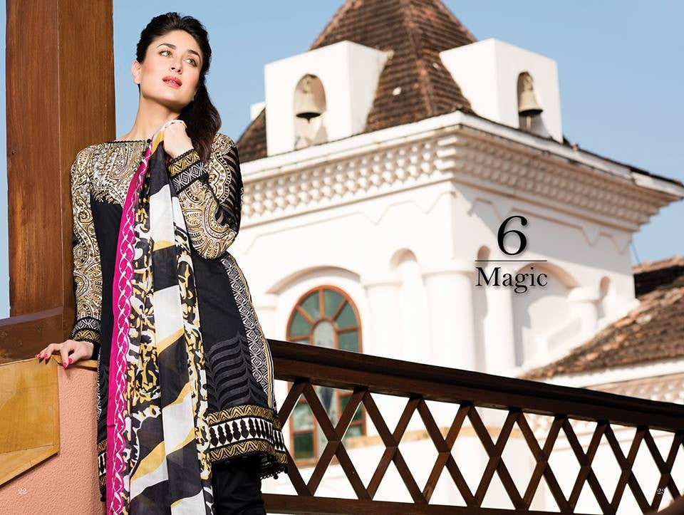 06 - Faraz Manan Crescent Lawn Collection 2015 - YourLibaas