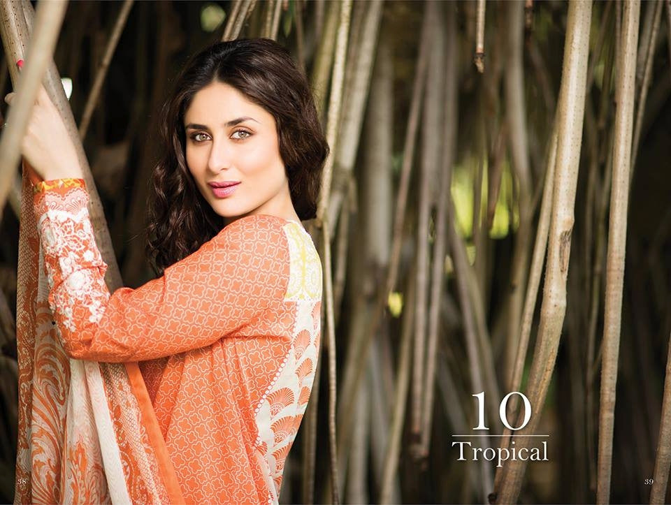 10 - Faraz Manan Crescent Lawn Collection 2015 - YourLibaas