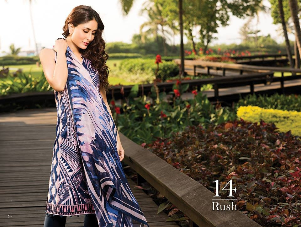 14 - Faraz Manan Crescent Lawn Collection 2015 - YourLibaas